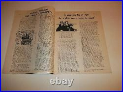 Black Panther Newspaper So. Cal. Supplement April 30, 1970 VG+