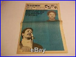 Black Panther Party 12 page So. Cal supplement March 11, 1970 VG+