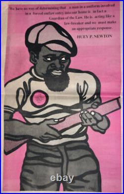 Black Panther Party Newspaper 2/17/69 Huey Newton Birthday