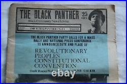 Black Panther Party Newspaper June 20, 1970 Message to America complete