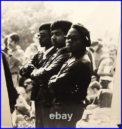 Black Panther Vintage Re-print Black And White Photograph 1965