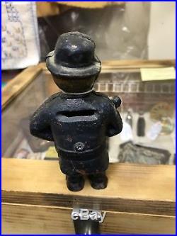 Black americana collectibles cast iron banks