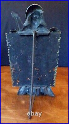 Blackamoor Easel Mirror Black Americana Folk Art Antique Rogers ca. 1900