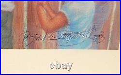 Brenda Joysmith Patticake Hand Signed In Ink Color Glossy Lithograph