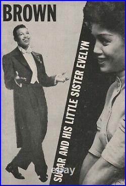 Brown Magazine (Rare) Mar 1954 Vol 1 No, 2 cover model unknown Father Divine