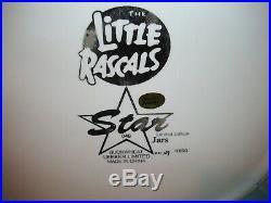 Buckwheat Cookie Jar Black Americana Jar Little Rascals Star Jar Limited Editon