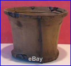 Buffalo Soldier-Indian War Period Canvas Water Pail-Marked All-Black 9th Cavalry