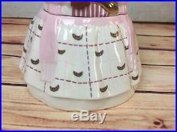 Carol Gifford mammy cookie jar Black Americana Lovely! Pretty in Pink