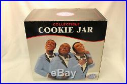 Clay Art 1998 Soul Tones Jazz Singers Black Americana Cookie Jar