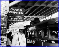 Colored Bus Station Photo 8X10 Durham NC 1940 Buy 2 Get One FREE