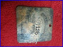 Copper slave tag