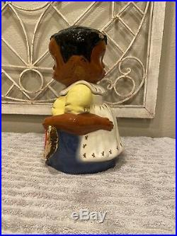 Corl Pottery Limited Edition 28/100 Leroy And Lucy Cookie Jar Black Americana
