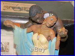 Ebony Vision THE TENDER TOUCH SIGNED BY ARTIST THOMAS BLACKSHEAR