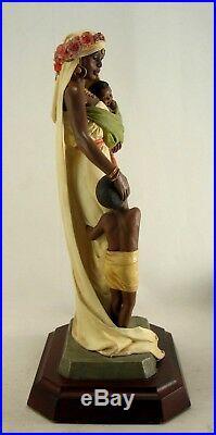 Ebony Visions Figurine The Madonna Thomas Blackshear Willitts 1995