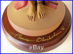 Evening Rose #2905 Personal Author Signature Thomas Blackshear Ebony Visions