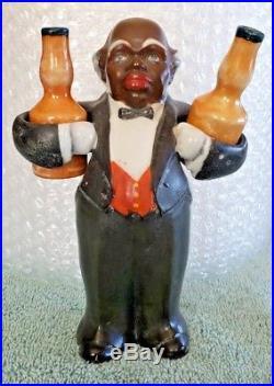 Extremely Rare Vintage Black / African American Waiter/Butler Salt Pepper