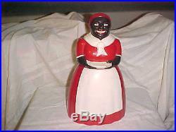 F&F Aunt Jemima Mammy Black Americana Plastic Cookie Jar