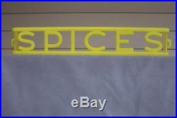 F&F Aunt Jemima Spice Rack Rare Yellow