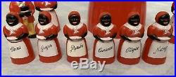 F&F Mold & Die Works Vintage Aunt Jemima and Uncle Moses Set Cookie Jar