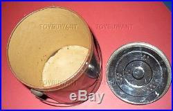 Fine Antique Niggerhair Smoking Tobacco Tin Can Litho 1926 Chew Black Americana