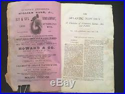 Frederick Douglass' Appeal For Black Suffrage 1867 Atlantic Monthly Magazine