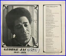 George Jackson, Soledad, Askia Muhammad Toure, Black Panther Party, Angela Davis