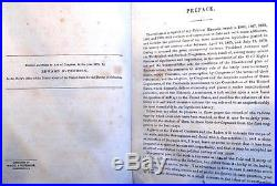 George Washington Williams copy of History of the Reconstruction, 1880, Sgnd 3X, VG