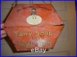 GoldDust Twins, FairySoap, Sunny Mnday Vtg Fairbanks 1908 Black Memorabilia Sign