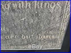 Grave Rubbing African Slave Concord Mass Folk Art Emancipation Death Poem
