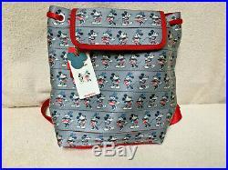 Harveys Disney Mickeys Americana Backpack New With Tags