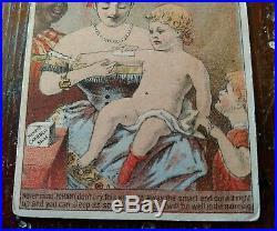 Henry's Carbolic Salve Original Rare Black Memorabilia 1880's Trade Card Racist