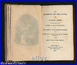 ID'd 1833 CORNELIA WILLIS SLAVE ABOLITIONIST HARRIET JACOBS SPIRIT OF PRAYER