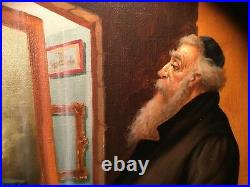 In Excellent Condition Original Oil Painting On Canvas By A. Straski Signed