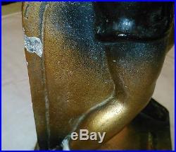 JOE LOUIS/BROWN BOMBER LAMP/marked 09/24/35/VINTAGE