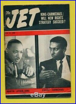 Jet Magazine February 29 1968 Martin Luther King Jr. Stokely Carmichael Rights