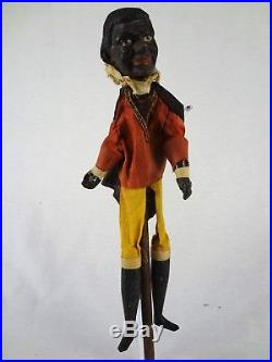 Jim Crow Antique Punch and Judy Puppets Vintage Black Americana Collectibles