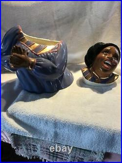 Joyful Noise / Cookie Jar by Clay Art / Gospel Singer