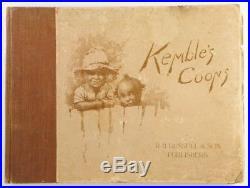 Kemble's Coons EW Kemble Racist Illustration Book 1896 Edward W Black Americana