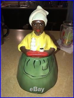 LUZIANNE Mammy Cookie Jar