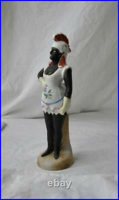 Lady In Rooster Costume Germany Schafer Vater Black Americana c1920s Burlesque