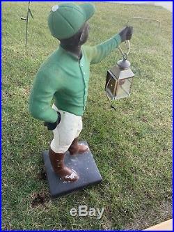 Large Lawn Jockey