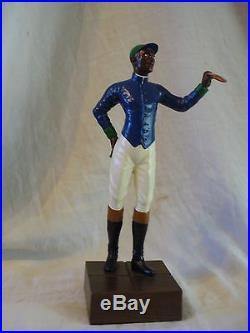 Lawn Jockey Statue, Classic Black Americana