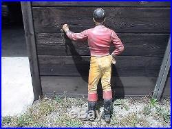 Lawn Jockey, old iron