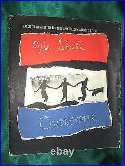 Louis Lo Monaco WE SHALL OVERCOME Prints, March on Washington, Civil Rights, MLK