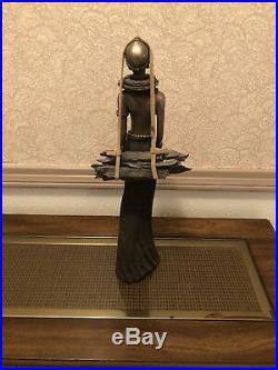 Maasai Tribes Famed Artist/Sculpture Stacy Bayne'ADIMU' The Journey Home