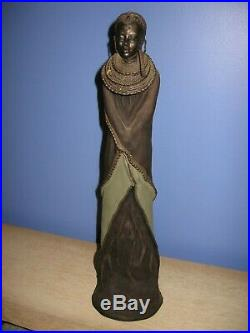 Maasai Tribes Sculpture Stacy Bayne On This Festive Day The Journey Home