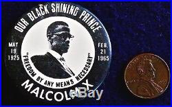 Malcom X By Any Means Necessary 1965 Nyc Original The Real Stuff Rare