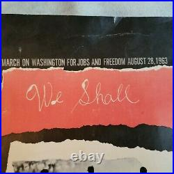 March On Washington For Jobs and Freedom August 28, 1963 Poster Louis Lo Monaco