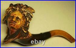 Marie Laveau Voodoo Queen of New Orleans Meerschaum Pipe