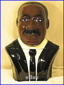 Martin Luther King, Jr, Cookie Jar, #377, Super Rare, Mint Condition